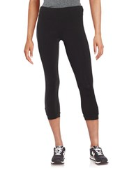 Kensie Cropped Stretch Pants Black