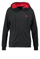Adidas Performance Prime Tracksuit Top Black Ray Red
