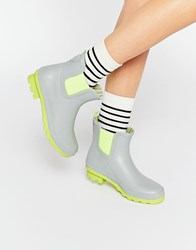 Call It Spring Henrion Light Grey Wellington Ankle Boots Light Grey