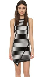 Bb Dakota Lorraine Asymmetrical Dress Black