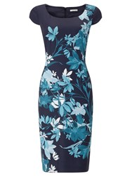 Jacques Vert Bali Floral Print Dress Multi Coloured