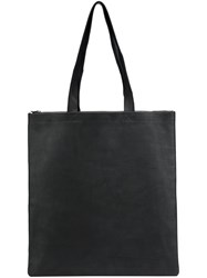 Isaac Reina Basket Shoulder Tote Black