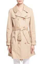 Women's Moncler 'Bavarelle' Water Resistant Trench Coat