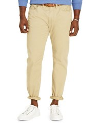 Polo Big And Tall Classic Fit Stretch Five Pocket Pants Rustic Beige