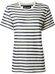Nlst Striped Loose Fit T Shirt