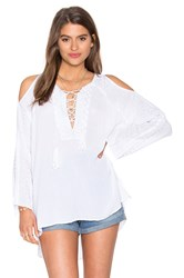 525 America Embroidered Tunic White