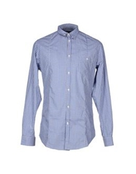 Master Coat Shirts Azure