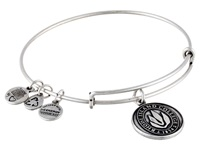 Alex And Ani Rhode Island College Logo Charm Bangle Rafaelian Silver Finish Bracelet