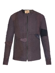 By Walid Liam Patchwork Cotton Jacket
