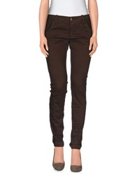 Met And Friends Trousers Casual Trousers Women Cocoa