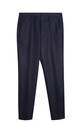 Ami Alexandre Mattiussi Carrot Fit Trousers Navy