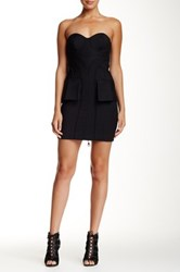 L.A.M.B. Bustier Dress Black