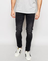 New Look Skinny Fit Jeans In Black Wash