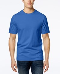 Club Room Men's Paxton Crew Neck T Shirt Only At Macy's Palace Blue