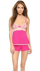 Fleurt With Me Falling In Love Cami Pj Set Cabaret Red Parfait