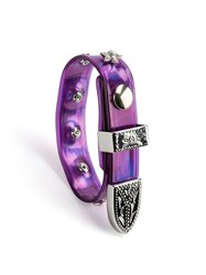 Faith Connexion Studded Bracelet Pink And Purple