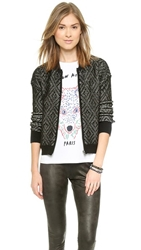 Splendid Filmore Bomber Jacket Black