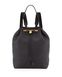 Backpack 11 Leather Hobo Bag Black The Row