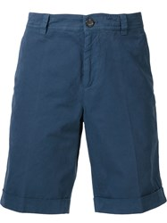 Brunello Cucinelli Cuffed Shorts Blue