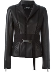 Dsquared2 Side Padded Jacket Black