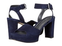 Stuart Weitzman Realdeal Niceblue Suede Women's Wedge Shoes Purple