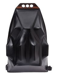 L'eclaireur Made By Geometric Sculptural Backpack Black