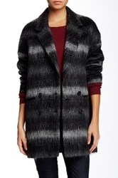 Soia And Kyo Michelle Plaid Wool Blend Jacket Black