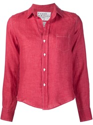 Frank And Eileen 'Barry' Shirt Red