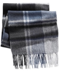 Club Room Offset Cashmere Scarf Only At Macy's