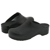Dansko Karl Black Box Men's Clog Shoes