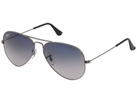 Ray Ban Rb3025 Aviator 58Mm Large Metal Polarized Grey Blue Gunmetal Metal Frame Fashion Sunglasses Gray