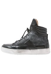 Candice Cooper Agus Hightop Trainers Poncho Mist Guanto Nero Pampero Nero Black