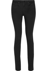 Alexander Wang 001 High Rise Skinny Jeans Black