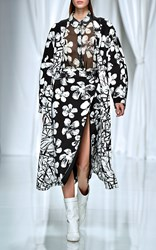 Ungaro Emanuel Printed Long Coat
