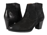 Vionic Upright Windom Western Ankle Boot Black Women's Pull On Boots