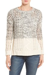 Dex Women's Cable And Eyelet Pullover