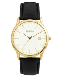 Sekonda Watch With Leather Strap 3697 Brown