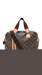 Wgaca Vintage Louis Vuitton Monogram Bosphore Bag Brown