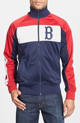 Men's Mitchell And Ness 'Boston Red Sox Home Stand' Tailored Fit Track Jacket