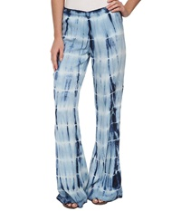 Billabong Midnight Hour Tie Dye Pant Blue Sky Women's Casual Pants