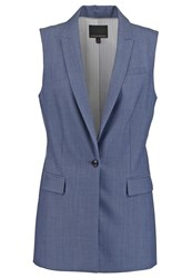 Banana Republic Waistcoat Spa Blue Light Blue