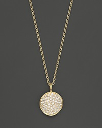 Ippolita 18K Yellow Gold Stardust Flower Pendant Necklace With Diamonds 18
