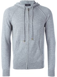 Joseph Zip Up Hoodie Grey