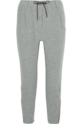 Brunello Cucinelli Wool And Cashmere Blend Track Pants