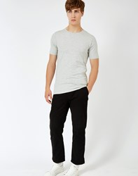 Only And Sons Mood Muscle O Neck T Shirt Grey