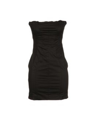 Dek'her Short Dresses Black