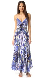 Camilla Rhythem And Blues Long Dress With Tie Front Rhythm And Blues
