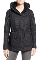 Barbour Women's 'Orkney' Waxed Cotton Anorak With Removable Hood