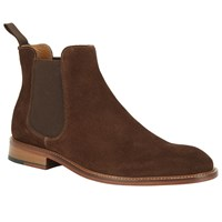 John Lewis Suede Taylor Chelsea Boots Brown