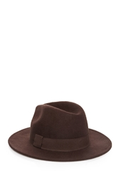Forever 21 Felted Wool Fedora Brown